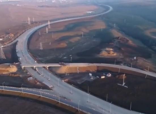 Автоподходы с высоты птичьего полета. Видео 6.02.2018