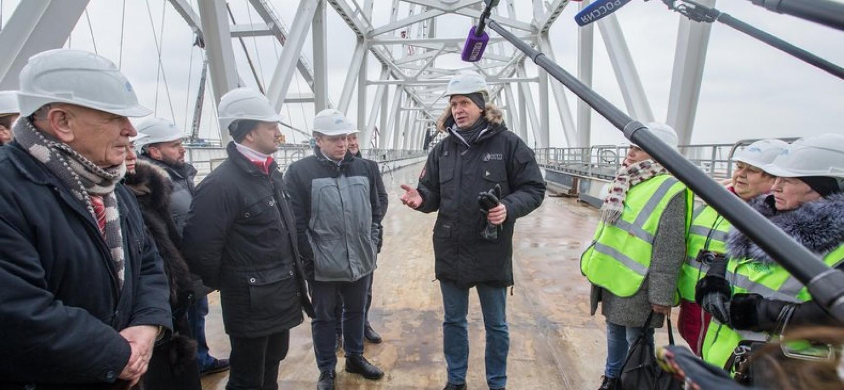 В Керчи прошло заседание Общественного совета по строительству Крымского моста