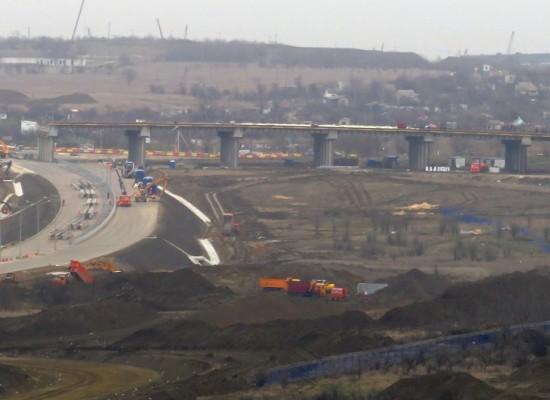 Движение по автодороге через Керченский пролив будет открываться поэтапно