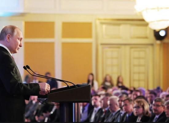 «Открытие моста даст импульс для развития всего Крыма»  — В. В. Путин