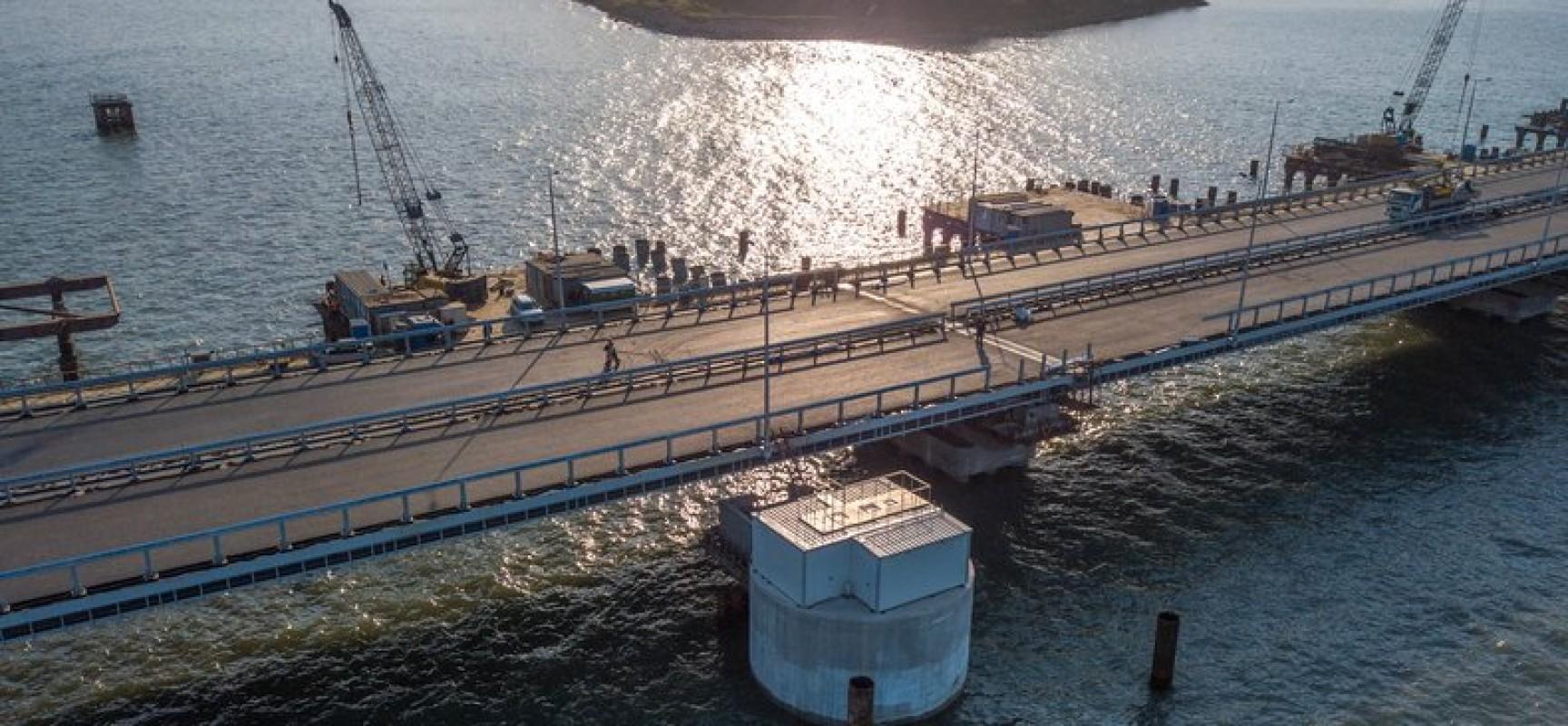 Локальные очистные сооружения Керченского моста