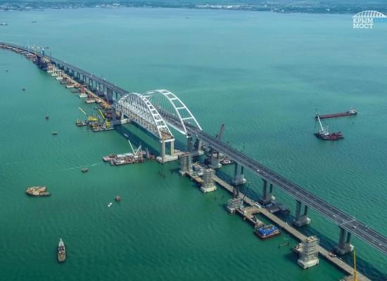 16 мая запускается автодорожное движение по мосту через Керченский пролив