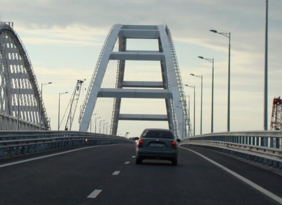 Транспортный поток: 500 тысяч автомобилей с момента открытия движения