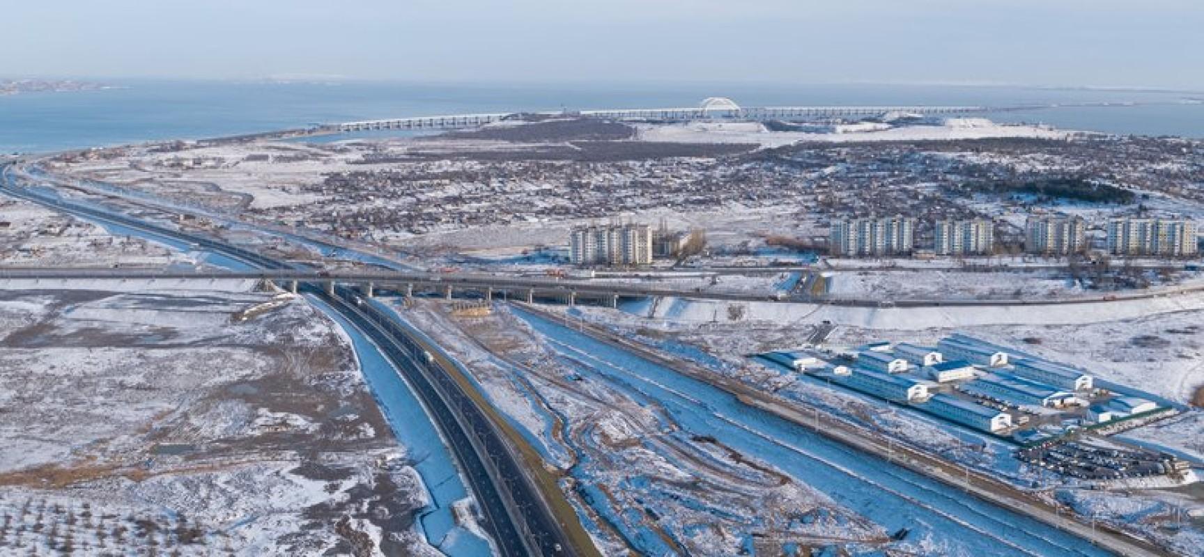 Подходы к мосту: сбойка железнодорожного тоннеля